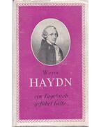 Wenn Haydn - Vígh Jenő