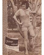 Fürge ujjak 1971/3. - Villányi Emilné (szerk.)