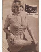 Fürge ujjak 1972/6. - Villányi Emilné (szerk.)