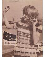 Fürge ujjak 1975/4. - Villányi Emilné (szerk.)