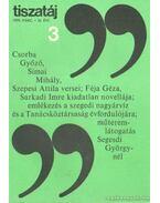 Tiszatáj 1979. március 33. évf. 3. - Vörös László