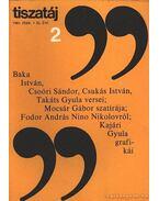 Tiszatáj 1981. febr. 2. szám - Vörös László