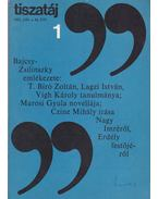 Tiszatáj 1982/1. - Vörös László