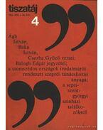 Tiszatáj 1982. ápr. 36. évf. 4. szám - Vörös László