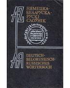 Német-belarusz-orosz szótár - W. Martinewski, P. Sadowski
