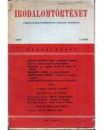 Irodalomtörténet 1949/1. - Waldapfel József