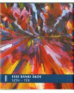 Esse Bánki Ákos: Szín-tér (dedikált) - Wehner Tibor