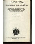 Hozsanna! - Werner Alajos (szerk.), Bárdos Lajos