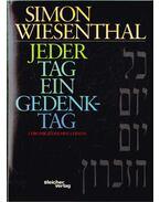 Jeder Tag ein Gedenktag - Wiesenthal,Simon
