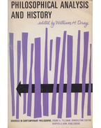 Philosophical Analysis and History - William H. Dray