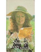 Ahogy tetszik - William Shakespeare