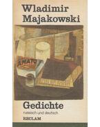 Gedichte - Wladimir Majakowski