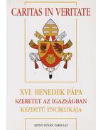 XVI. Benedek pápa Szeretet az igazságban kezdetű enciklikája - XVI. Benedek pápa