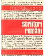 Scriitori Romani - Zaciu, Mircea (szerk.)