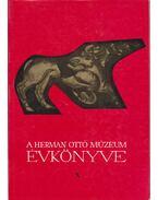 A Herman Ottó Múzeum Évkönyve X - Zádor Tibor
