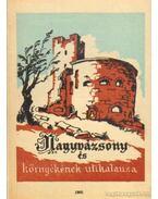 Nagyvázsony és környékének útikalauza - Zákonyi Ferenc