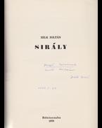 Sirály. [Költemény.] (Dedikált és számozott.) - Zelk Zoltán