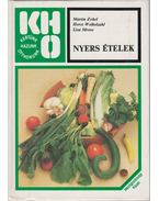 Nyers ételek - Zobel, Martin, Lisa Mrose, Horst Weibelzahl