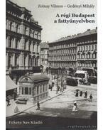 A régi Budapest a fattyúnyelvben - Zolnay Vilmos, Gedényi Mihály