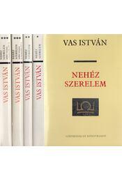 Nehéz szerelem I-III. (négy kötetben) - Vas István - Régikönyvek