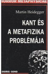 Kant és a metafizika problémája - Martin Heidegger - Régikönyvek