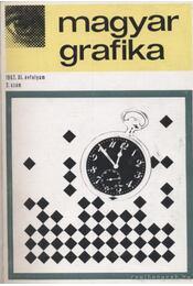 Magyar Grafika 1967. 1-6. szám ( teljes ) - Régikönyvek
