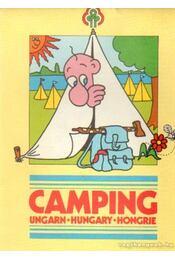 Camping Hungary térkép - -- - Régikönyvek