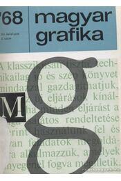 Magyar Grafika 1968. 1-6. szám (teljes) - Régikönyvek