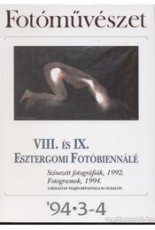 Fotóművészet '94. 3-4. szám - Régikönyvek