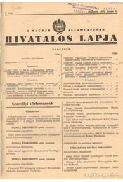 A Magyar Államvasutak hivatalos lapja 1978. évfolyam (teljes) - Régikönyvek
