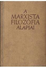 A marxista filozófia alapjai - Régikönyvek