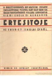 A Miasszonyunkról nev. érseki tanítóképző polgári leányiskola elemi iskola és kisdedóvó Értesítője az 1936-37 - Régikönyvek