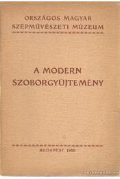 A modern szoborgyűjtemény - Régikönyvek