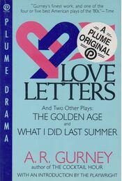 Love Letters and Two Other Plays - A. R. Gurney - Régikönyvek