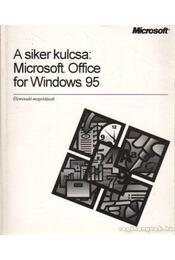 A siker kulcsa: Microsoft Office for Windows 95 - Régikönyvek