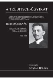 A Trebitsch-ügy - A magyar királyi belügyminisztérium titkos dokumentumai - Régikönyvek