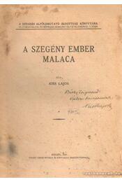 A szegény ember malaca - Kiss Lajos - Régikönyvek