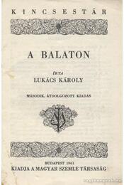 A Balaton - Lukács Károly - Régikönyvek