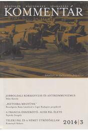 Kommentár 2014/3. - Ablonczay Bálint (főszerk.) - Régikönyvek