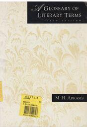 A glossary of literary terms - Abrams, M. H. - Régikönyvek