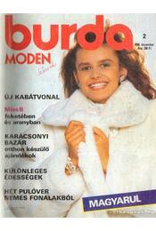 Burda Moden 1988/2 december - Aenne Burda (szerk.) - Régikönyvek