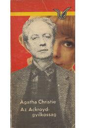 Az Ackroyd-gyilkosság - Agatha Christie - Régikönyvek