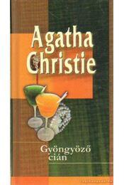 Gyöngyöző cián - Agatha Christie - Régikönyvek