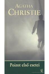 Poirot első esetei - Agatha Christie - Régikönyvek