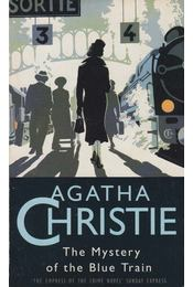 The Mystery of the Blue Train - Agatha Christie - Régikönyvek