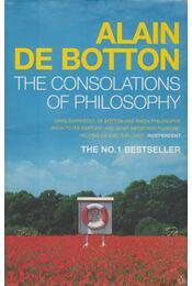 The Consolations of Philosophy - Alain de Botton - Régikönyvek