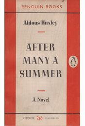 After Many a Summer - Aldous Huxley - Régikönyvek
