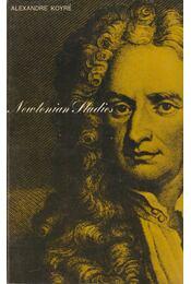 Newtonian Studies - Alexandre Koyré - Régikönyvek
