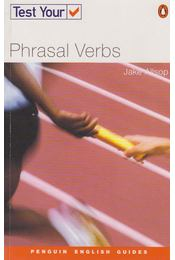 Test Your Phrasal Verbs - Allsop, Jake - Régikönyvek