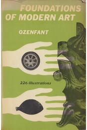 Foundations of Modern Art - Amédée Ozenfant - Régikönyvek